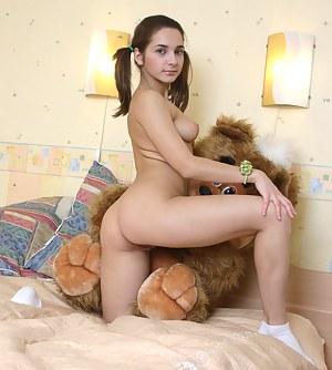 XXX Teen Pigtails Porn Pictures