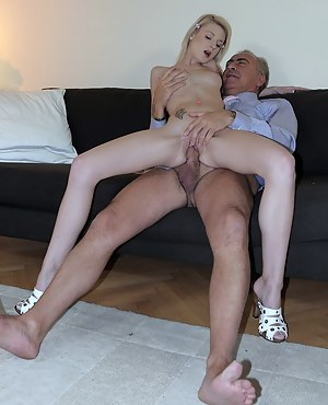 XXX Old Man and Teen Porn Pictures